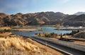Benmore Dam Power Station, Otago New Zealand Royalty Free Stock Photo