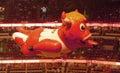 Benny the Bull Flying United Center Royalty Free Stock Photo
