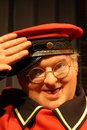 Benny Hill wax figure Royalty Free Stock Images