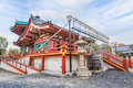 Benten hall temple at ueno park in tokyo Royalty Free Stock Photography