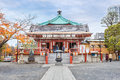 Benten hall temple at ueno park in tokyo Royalty Free Stock Photo