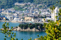 Bentenjima in tomonoura seen from sensuijima fukuyama city hiroshima prefecture japan Royalty Free Stock Image