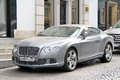 Bentley continental gt Arkivbild