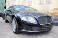 Bentley continental gt Royaltyfri Bild