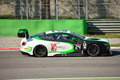 Bentley continental gt blancpain gt endurance series this is driven at monza in occasion of a test day organized by kateyama team Royalty Free Stock Images