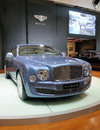 Bentley Mulsanne Diamond Jubilee Edition Royalty Free Stock Photography