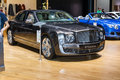 Bentley mulsanne in geneva motor show a Royalty Free Stock Photos