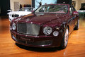 Bentley Mulsanne at Paris Motor Show 2010 Stock Image