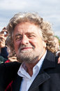 Beppe Grillo Royalty Free Stock Photo