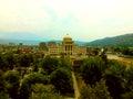 Berat tirana university of photo Stock Image