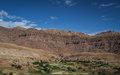Berber village in atlas mountains morocco africa Stock Images