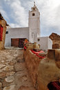 Berber Village Mosque View, Chenini, Ksour, Tunisia Royalty Free Stock Photo