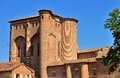 The berbie palace in albi this fortress is a former episcopal Royalty Free Stock Images