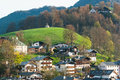 Berchtesgaden germany village in the alps Stock Image