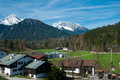 Berchtesgaden germany village in the alps Royalty Free Stock Image