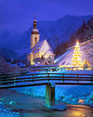 Berchtesgaden,Ramsau,Bavaria,Germany Royalty Free Stock Images