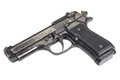 Beretta hand gun Royalty Free Stock Photo