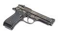 Beretta hand gun Royalty Free Stock Photo