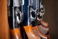 Beretta handgun close-up Royalty Free Stock Photo