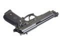 Beretta M9 gun Royalty Free Stock Photo