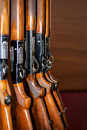 Beretta shotgun arsenal Royalty Free Stock Photo