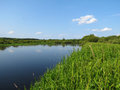 Berezina river Royalty Free Stock Photo