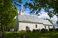Berg Church (Halden), south southwest Royalty Free Stock Image