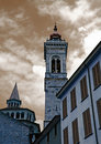 Bergamo church Royalty Free Stock Photography