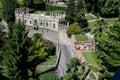 Bergamo italy detail from the Royalty Free Stock Photos
