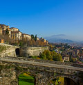 Bergamo old town, Italy Royalty Free Stock Photo