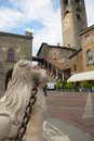 Bergamo Old Town. Royalty Free Stock Photo