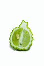Bergamot isolated white background Royalty Free Stock Photography