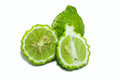 Bergamot isolated white background Royalty Free Stock Image