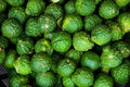 Bergamot in the street market Royalty Free Stock Photo