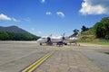 Berjaya aircraft redang island malaysia march air flight from subang jaya to redang island landed at the airport Stock Images