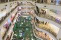 Berjaya times square kuala lumpur department store in malaysia Royalty Free Stock Photography