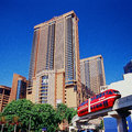 Berjaya times square monorail is a storey m twin tower hotel condominium indoor amusement park and shopping centre complex in Stock Image