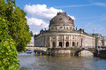 Berlin bode museum and museumsinsel in mitte germany Stock Photography