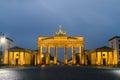Berlin, Brandenburg Gate Royalty Free Stock Photo