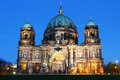 Berlin cathedral berlin germany berliner dom in the evening Stock Photos