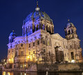 Berlin cathedral berliner dom berlin germany Stock Image