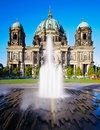 Berlin cathedral or berliner dom in center of germany Royalty Free Stock Image