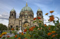 Berlin cathedral berliner dom germany Stock Image