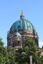 Berlin cathedral the evangelical oberpfarr und domkirche in germany Stock Images