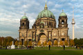 Berlin cathedral german berliner dom Stock Images