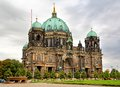 Berlin cathedral in germany Royalty Free Stock Image
