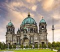 Berlin cathedral of germany Royalty Free Stock Image