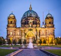 Berlin cathedral in germany the church s formation dates back to Royalty Free Stock Photos