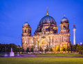 Berlin cathedral in germany the church s formation dates back to Royalty Free Stock Photography