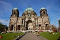 Berlin domkyrka Arkivfoto